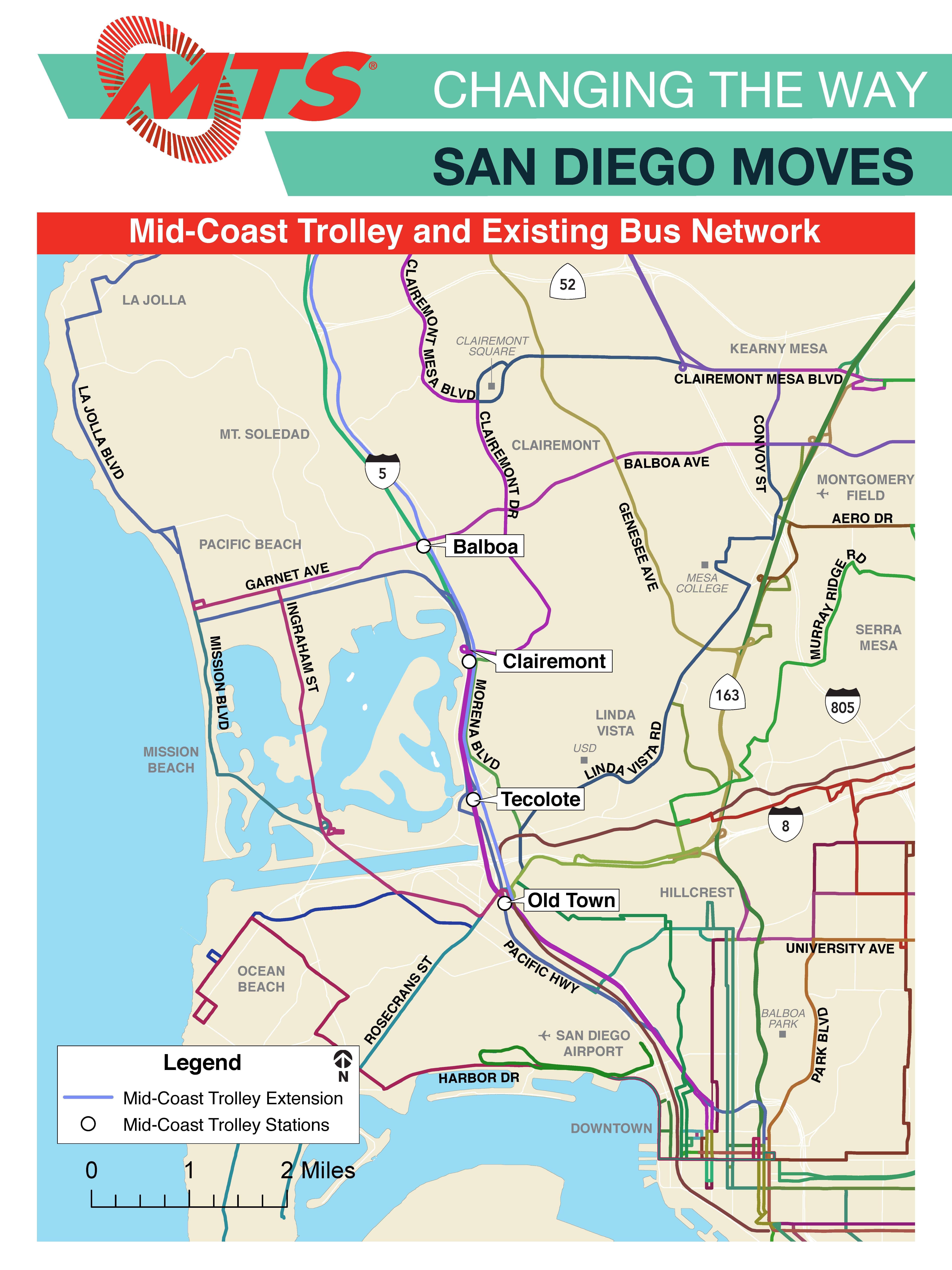 Mid-Coast Trolley Extension | San Diego Metropolitan Transit ...