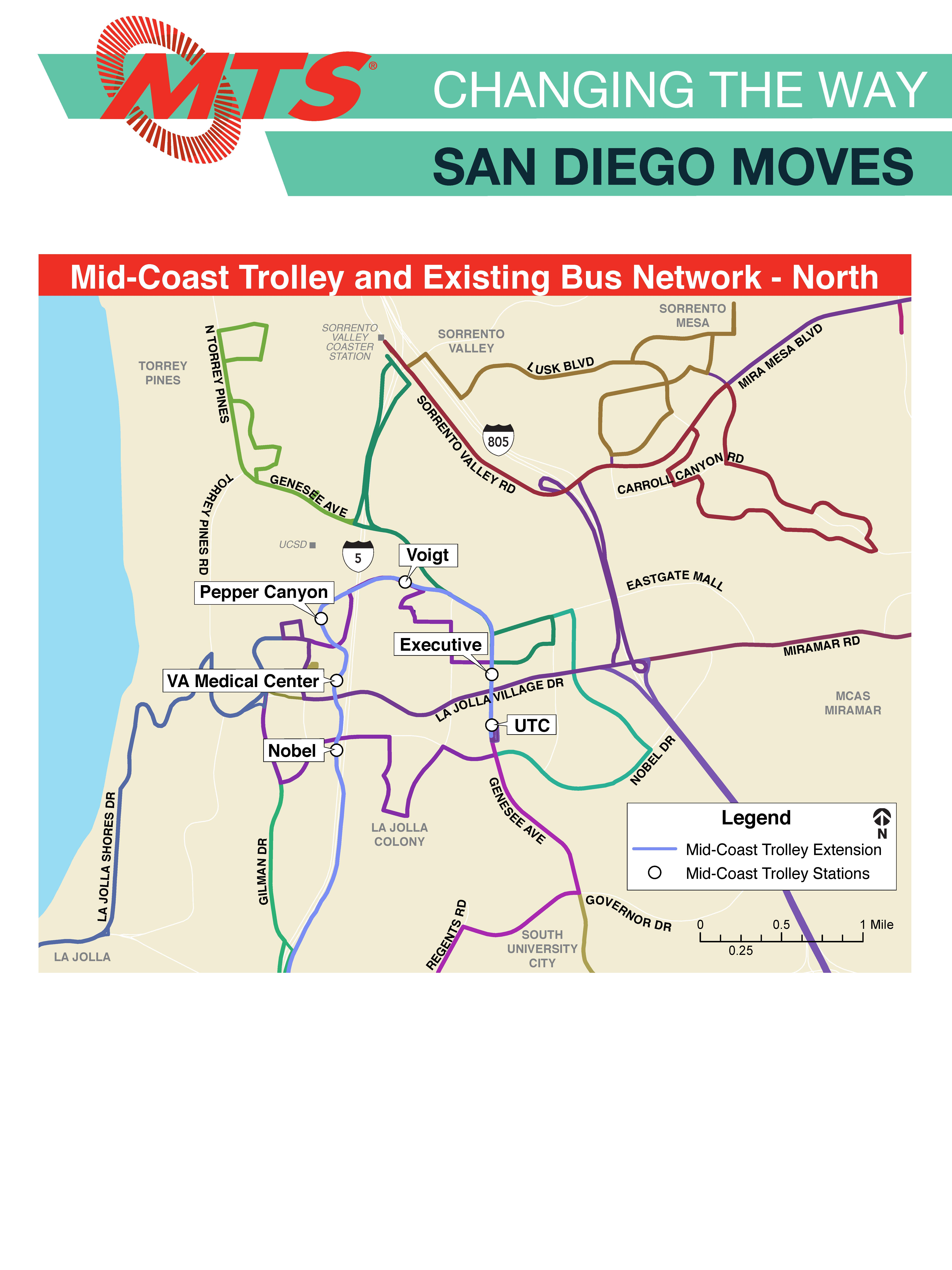 Mid-Coast Trolley Extension | San go Metropolitan Transit ... on miami trolley system map, pittsburgh trolley map, trolley bar map, san diego zoo map, trolley route in dallas, trolley map san francisco, trolley trail map, charlotte light rail map, denver light rail map,
