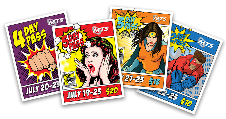 Comic-Con Pass Images