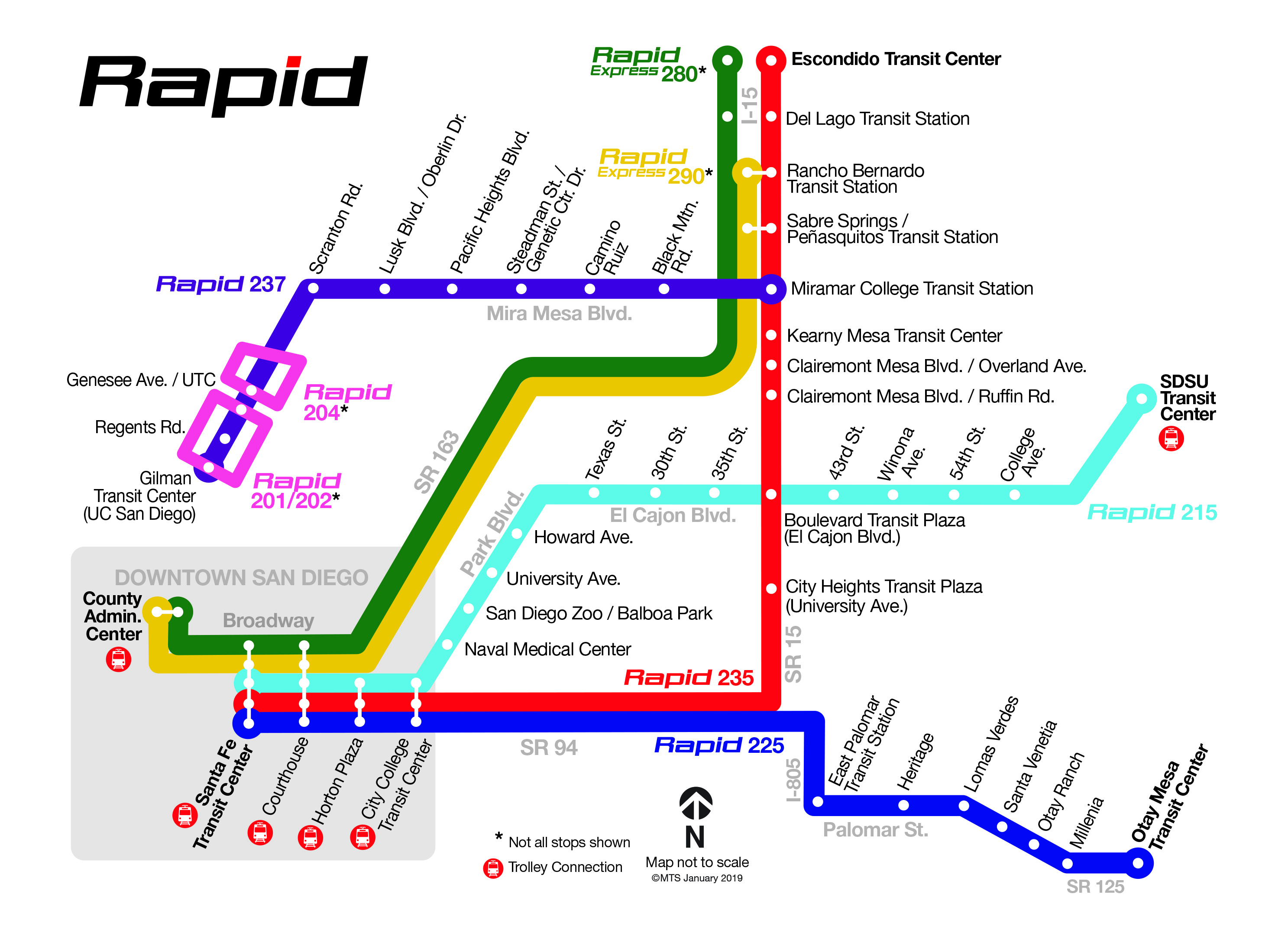 Rapid | San go Metropolitan Transit System on florida street maps, neighborhood street maps, san francisco street maps, local street maps, washington street maps, orlando street maps, zip code street maps, austin street maps, oakland street maps, texas street maps, home street maps, international street maps, area street maps, city street maps, world street maps, oxford street maps, miami street maps, hudson street maps,